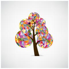 geometric tree symbol.