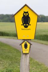 Schild Naturpark
