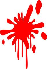 Blutspritzer Farbspritzer Klex Paintball Graffiti
