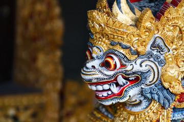 Foto op Plexiglas Indonesië Balinese God statue