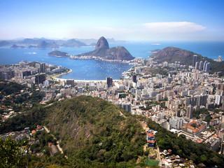 Sugar Loaf Mountain and the Rio de Janeiro Cityscape, Brazil