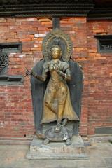 パタン 王宮の仏像
