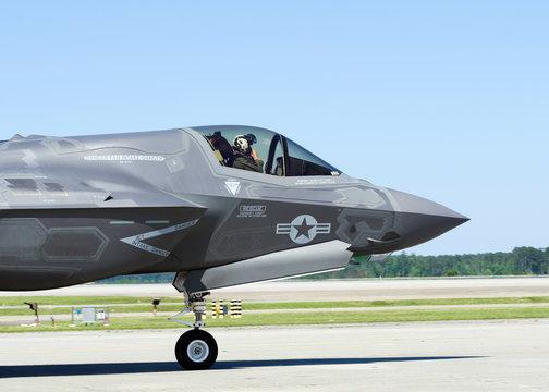 F-35 Lightning II military aircraft