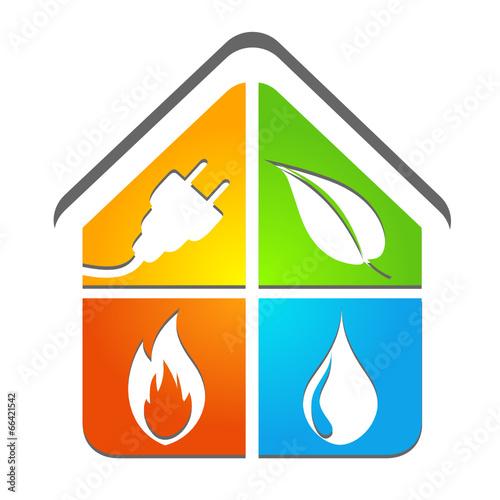 Logo Plombier Chauffagiste Electricien Energies Renouvelables