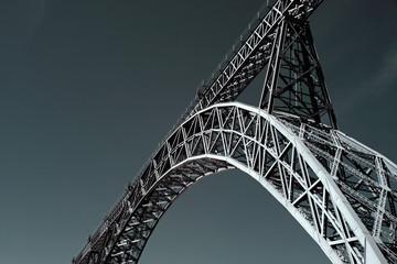Spoed Foto op Canvas Brug D. Maria bridge