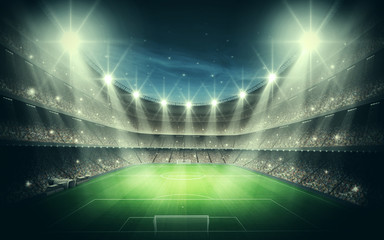 Fototapete - Light of Stadium