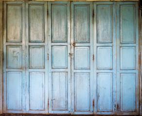 An old wooden doors