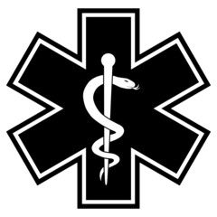 Medicine Symbol BW