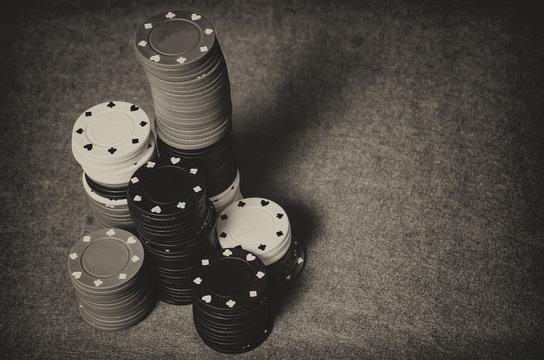 Vintage casino chips