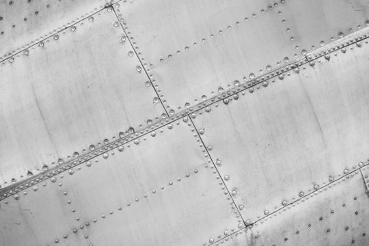 Plane - Constructional close up
