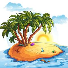 Illustration of Treasure Island