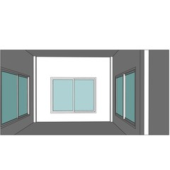 sketch design of interior ,vector