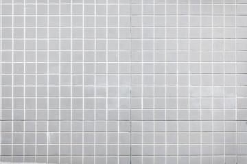 Gray ceramic tile pattern