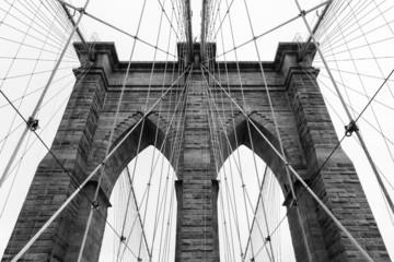Brooklyn bridge in new york - USA - fototapety na wymiar