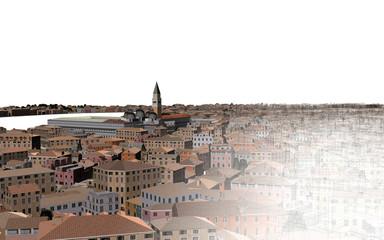 Venezia Laguna 3d Mappa Cartina (Serenissima)