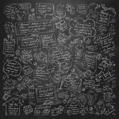 Doodle. Vector format