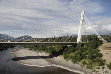 Iron white bridge