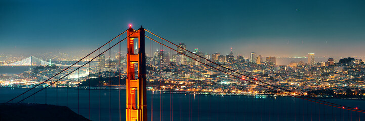 Fototapete - Golden Gate Bridge