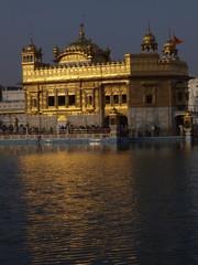 Poster Berlin Templo de Oro en Amritsar (India)