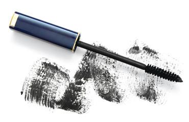 Ink for eyelashes.