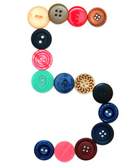 Buttons for sewing.