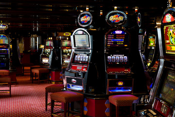Wall Mural -  slot machine
