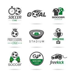 Soccer icon set - 2