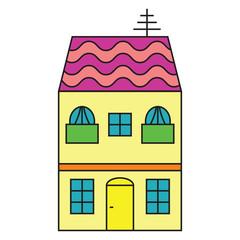 Single House purple