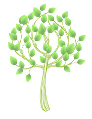 Hand - drawn tree