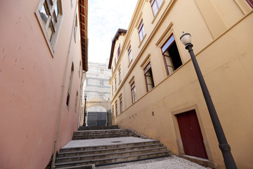 historical street, sao paulo, brazil