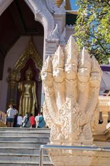 Five-headed naga snakes, Thailand