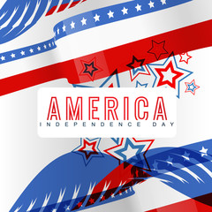 stylish american independence day