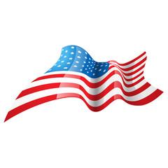 stylish american flag