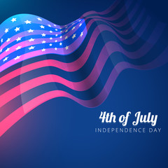 american flag 4th of july background