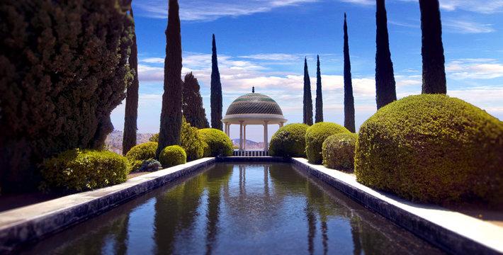 Conception garden, jardin la concepcion in Malaga (Spain)