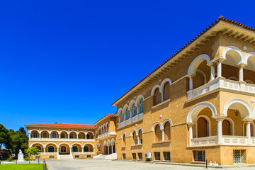 Bishop's Palace in Nicosia, Cyprus