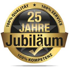 25 Jahre Jubiläum - 100% Qualität, Service, Kompetenz