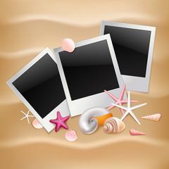 Summer photo frames