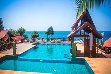 Swimming pool at luxury villa, Koh Phangan