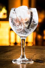 Aluminium Prints Cocktail Gin Tonic