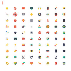 Colored classic icons