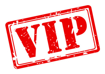 VIP red stamp text