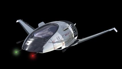 Drone design for surveillance or sci-fi alien war spacecrafts