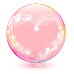 虹色のシャボン玉  Valentine's Day