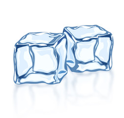 Vector ice blocks