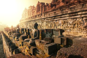 Fotobehang Indonesië Borobudur
