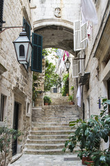 Stairs in Old City of Dubrovnik