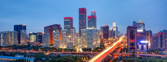 Photo sur Plexiglas Pekin Beijing Skyline