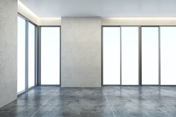 empty new office room