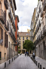 Madrid, city center, mail streets